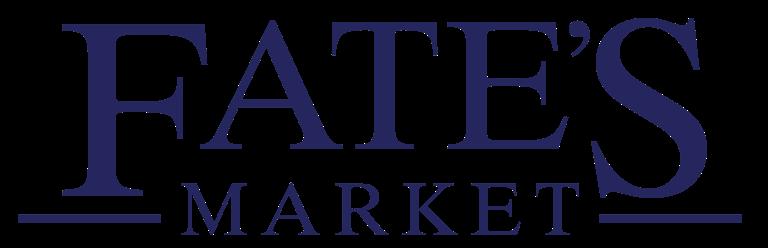 A theme logo of Fate's Market